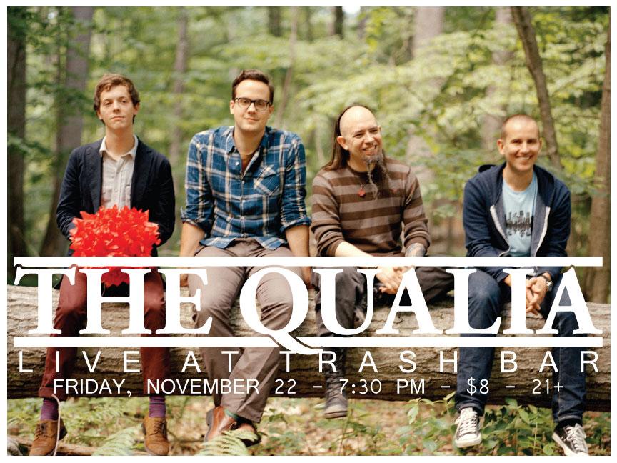 Qualia flyer trash